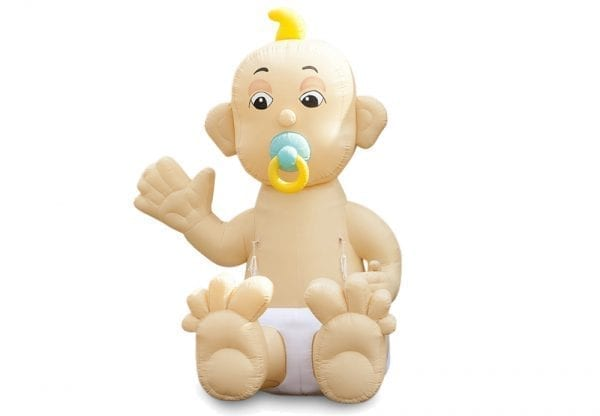 Inflatable Zittende baby