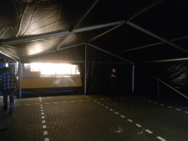 Interieur aluhal 8x10m Black