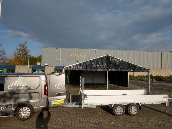 Aluhal 8x10m Black